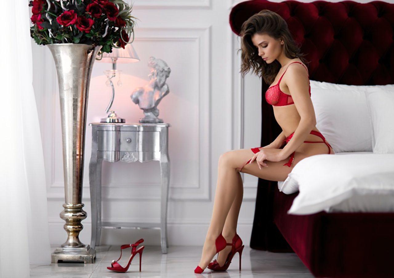 Lingerie Vermelha Sexy (1)